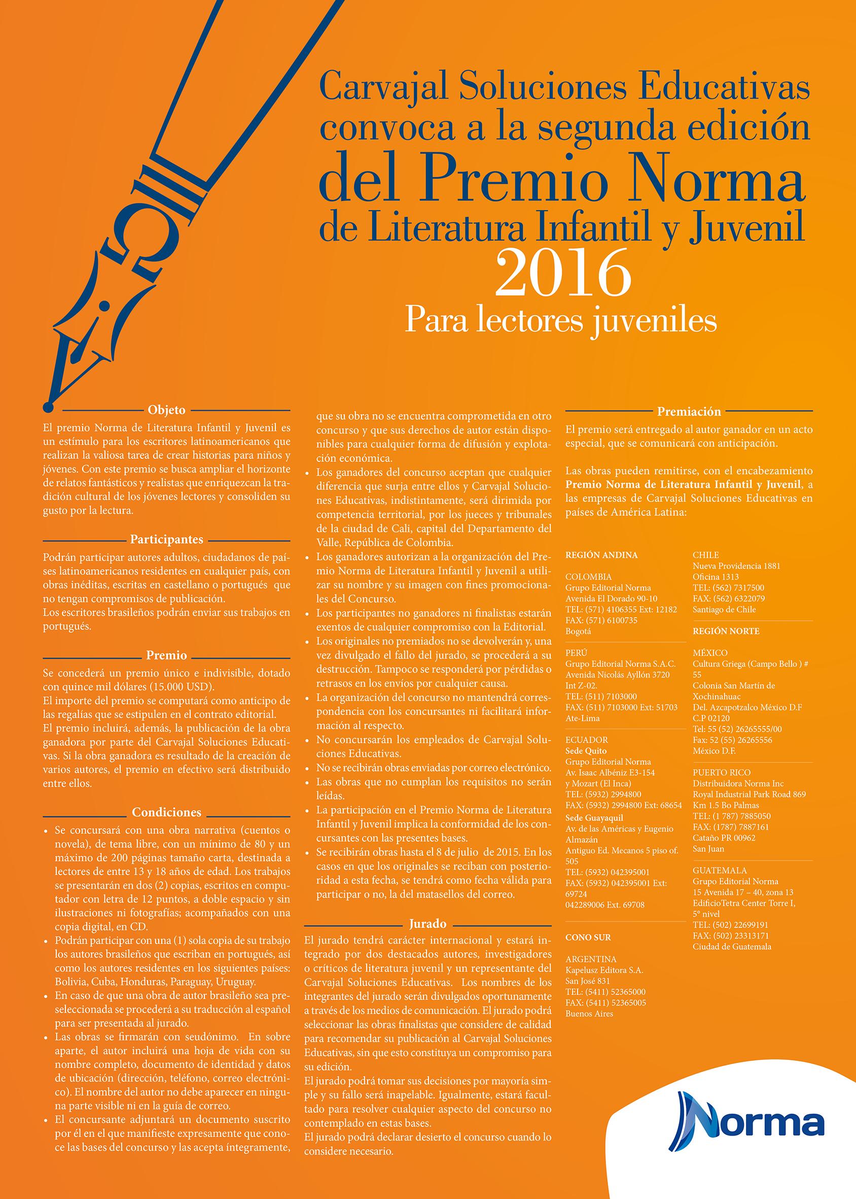 Bases concurso2016 Norma