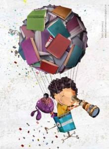 Bernasconi globo con libros