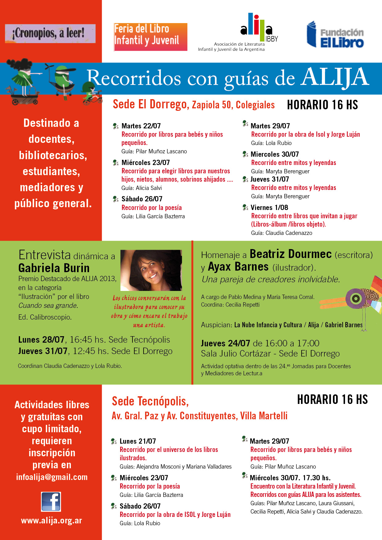 Flyer Feria infantil
