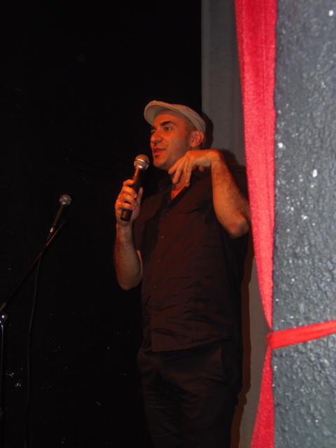 Homenaje Cabal 26 feb 2015_Claudio Ledesma aportó sus narraciones y las anécdotas vividas con G Cabal