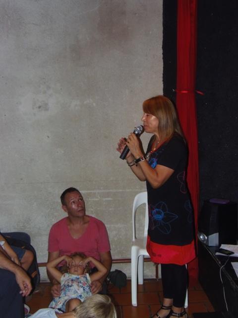 Homenaje Cabal 26 feb 2015_Maryta Berenguer nos regala sus narraciones de los  cuentos de Graciela Cabal