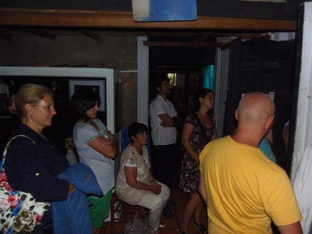 Homenaje Cabal 26 feb 2015_ante una sala colmada, muchos asistentes se congregaron en las salas contiguas del Museo del Títere